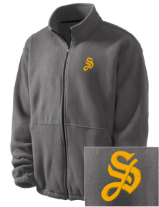 San Agustin Parish Scotts Valley Embroidered Men's Fleece Jacket
