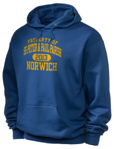 SS Peter & Paul Parish Norwich Holloway Men's 50/50 Hooded Sweatshirt