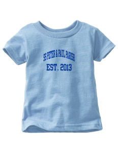 SS Peter & Paul Parish Oak Hill  Toddler Jersey T-Shirt