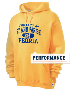 St Ann Parish Peoria Russell Men's Dri-Power Hooded Sweatshirt