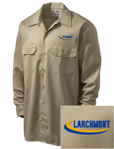 St Augustine Parish Larchmont Embroidered Dickies Men's Long-Sleeve Workshirt