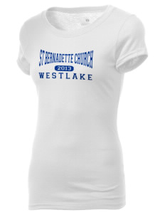 St Bernadette Church Westlake Holloway Women's Groove T-Shirt