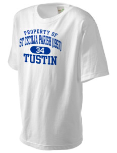 St Cecilia Parish (1957) Tustin Kid's Organic T-Shirt