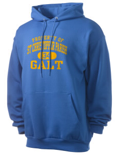 St Christopher Parish Galt Men's 7.8 oz Lightweight Hooded Sweatshirt