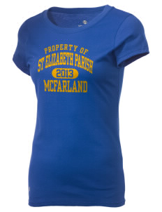 St Elizabeth Parish McFarland Holloway Women's Groove T-Shirt