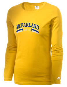 St Elizabeth Parish McFarland  Russell Women's Long Sleeve Campus T-Shirt