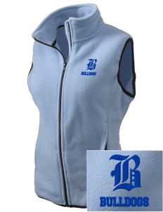 Hickory Point Elementary School Bulldogs Embroidered Women's Fleece Vest