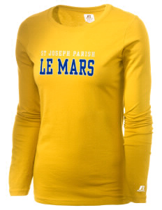 St Joseph Parish Le Mars  Russell Women's Long Sleeve Campus T-Shirt
