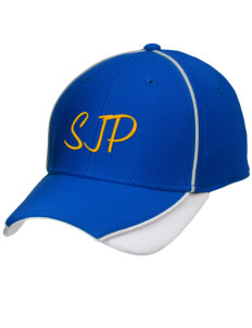 St Joseph Parish Le Mars Embroidered New Era Contrast Piped Performance Cap