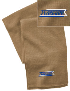 St Joseph Parish Milford  Embroidered Knitted Scarf