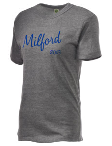 St Joseph Parish Milford Embroidered Alternative Unisex Eco Heather T-Shirt