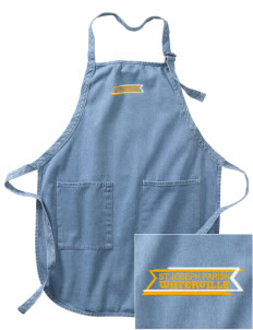 St Joseph Parish Waterville Embroidered Full-Length Apron with Pockets