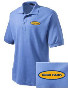St Joseph Parish (Clayton) Deer Park Embroidered Men's Silk Touch Polo