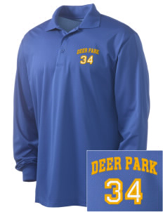 St Joseph Parish (Clayton) Deer Park Embroidered Men's Long Sleeve Micropique Sport-Wick Sport Shirt