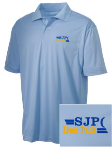 St Joseph Parish (Clayton) Deer Park Embroidered Men's Micro Pique Polo