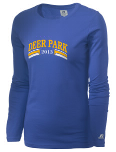 St Joseph Parish (Clayton) Deer Park  Russell Women's Long Sleeve Campus T-Shirt