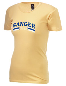 St Katherine Parish (Del Rey) Sanger Alternative Women's Basic Crew T-Shirt