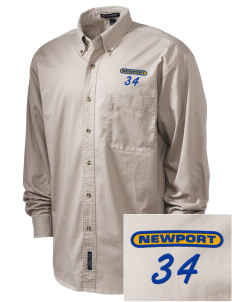 St Jude Parish (Usk) Newport Embroidered Men's Twill Shirt