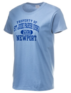 St Jude Parish (Usk) Newport Women's 6.1 oz Ultra Cotton T-Shirt