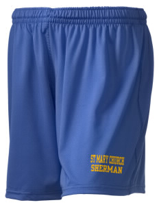 "St Mary Church Sherman Holloway Women's Performance Shorts, 5"" Inseam"