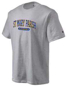 St Mary Parish Bloomfield Champion Men's Tagless T-Shirt