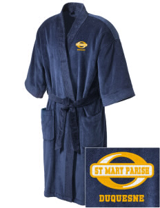St Mary Parish Duquesne Embroidered Terry Velour Robe
