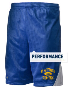 "St Mary Parish Remsen Holloway Men's Possession Performance Shorts, 9"" Inseam"