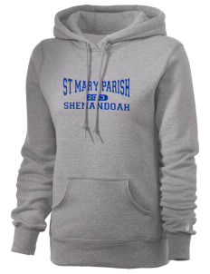 St Mary Parish Shenandoah Russell Women's Pro Cotton Fleece Hooded Sweatshirt