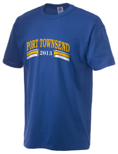 St Mary Star of The Sea Parish Port Townsend  Russell Men's NuBlend T-Shirt