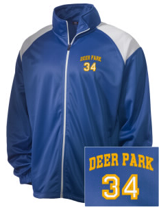 St Mary's Presentatin Parish Deer Park Embroidered Men's Tricot Track Jacket