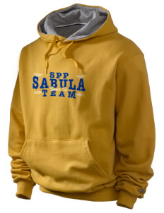 St Peter Parish Sabula Champion Men's Hooded Sweatshirt