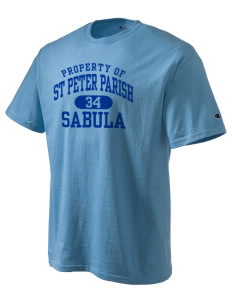 St Peter Parish Sabula Champion Men's Tagless T-Shirt