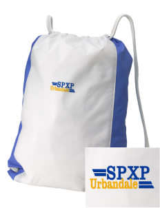 St Pius X Parish Urbandale Embroidered Holloway Home and Away Cinch Bag