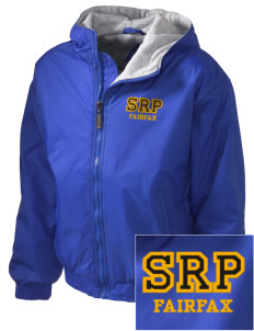 St Rita Parish Fairfax Embroidered Holloway Kid's Triumph Hooded Jacket