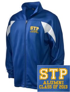 St. Timothy Parish School Lady Lake Embroidered Holloway Men's Full-Zip Track Jacket