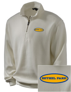 St Valentine Parish Bethel Park Embroidered Men's 1/4-Zip Sweatshirt