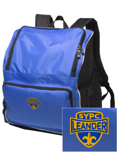 St Yoo Peter Catholic Church Leander Embroidered Holloway Backpack