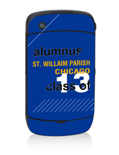 St. Willaim Parish Chicago Black Berry 8530 Curve Skin