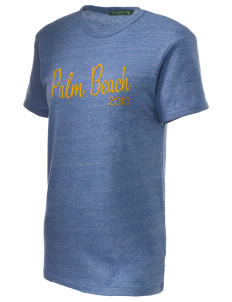 Diocese of Palm Beach Palm Beach Embroidered Alternative Unisex Eco Heather T-Shirt