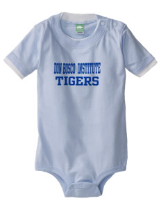 Don Bosco Technical Institute Tigers Baby One-Piece with Shoulder Snaps