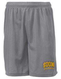 "State University of New York Utica Wildcats Men's Mesh Shorts, 7-1/2"" Inseam"