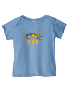 State University of New York Utica Wildcats  Baby Lap Shoulder T-Shirt