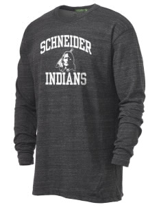 Schneider Elementary School Indians Alternative Men's 4.4 oz. Long-Sleeve T-Shirt