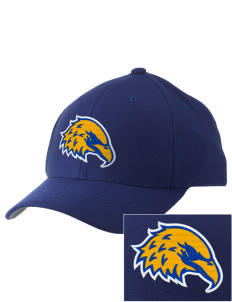 Hawthorn Elementary School South Eagles Embroidered Pro Model Fitted Cap