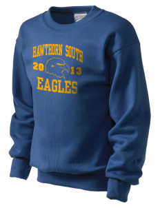 Hawthorn Elementary School South Eagles Kid's Crewneck Sweatshirt