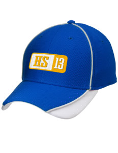 Hawthorn Elementary School South Eagles Embroidered New Era Contrast Piped Performance Cap