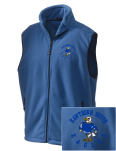 Hawthorn Elementary School South Eagles Embroidered Unisex Wintercept Fleece Vest