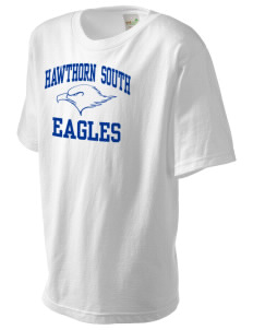 Hawthorn Elementary School South Eagles Kid's Organic T-Shirt