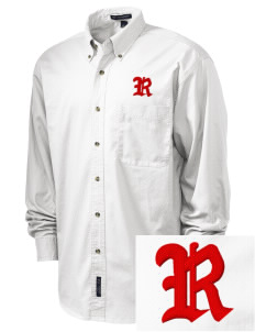 Sheboygan South High - '67 Redmen Embroidered Tall Men's Twill Shirt