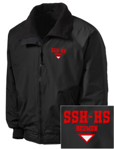 Sheboygan South High - '67 Redmen Embroidered Tall Men's Challenger Jacket